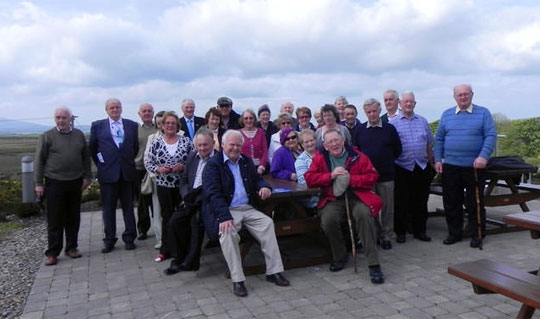 Members on a trip to Mayo