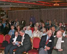 Members attending a local talk