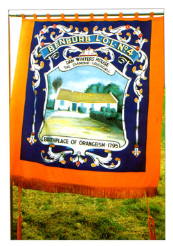 Benburb Orange Order Banner